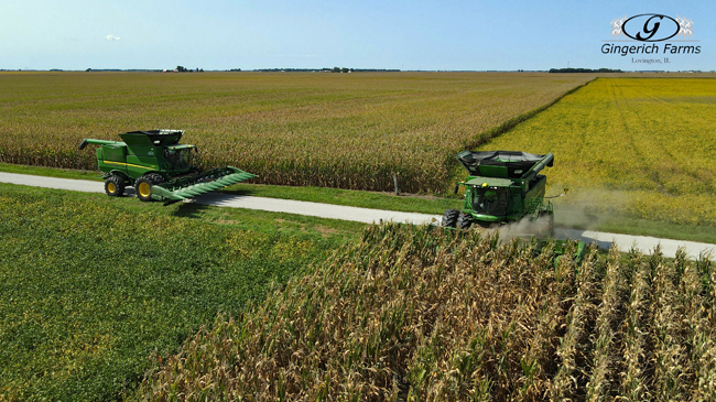 Opening a field - Gingerich Farms