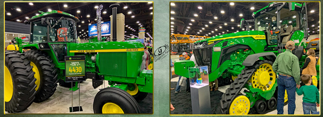 Tractors farm show - Gingerich Farms
