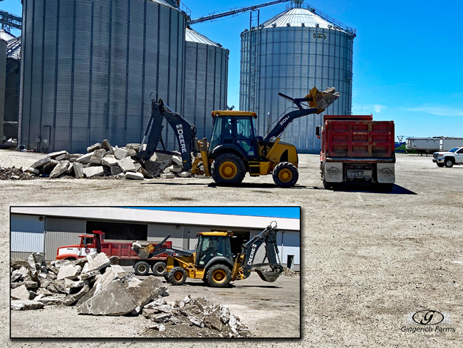 Get rid of concrete - Gingerich Farms