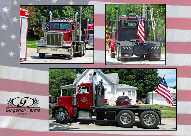 296 in the 4th of July Parade - Gingerich Farms