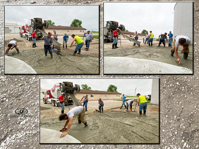 Concreting - Gingerich Farms
