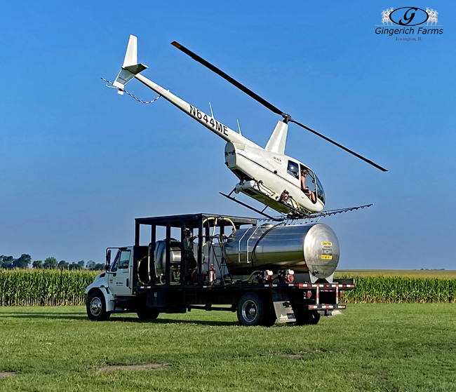 Helicopter - Gingerich Farms