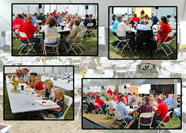 Appreciation Dinner at Gingerich Farms