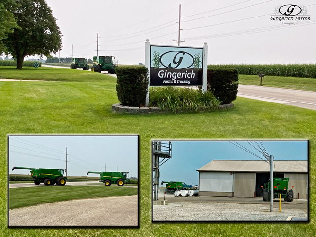 combines - Gingerich Farms