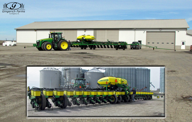 Planter completed at Gingerich Farms