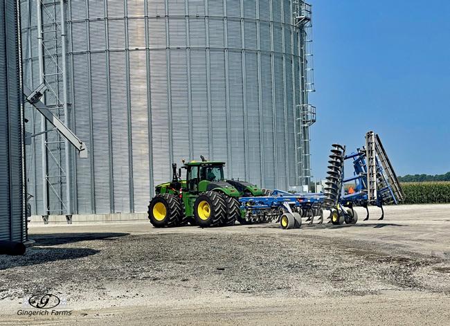 Chisel plow - Gingerich Farms