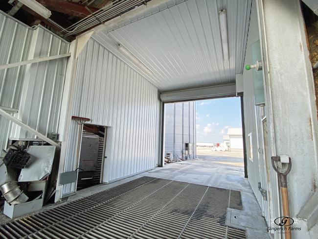 Clean Grain center - Gingerich Farms