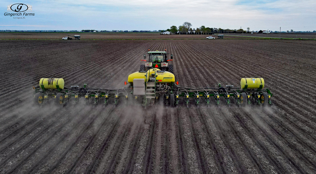 Corn Planter - Gingerich Farms