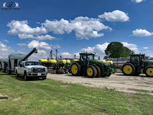 Corn Planters - Gingerich Farms