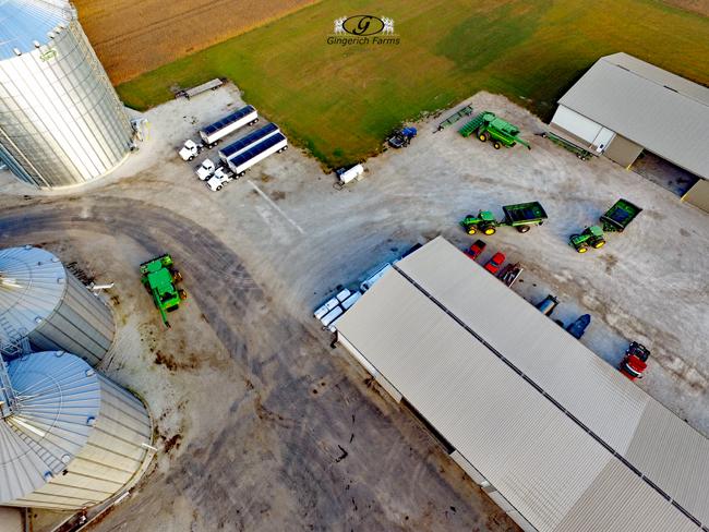 Combines & Auger Carts - Gingerich Farms
