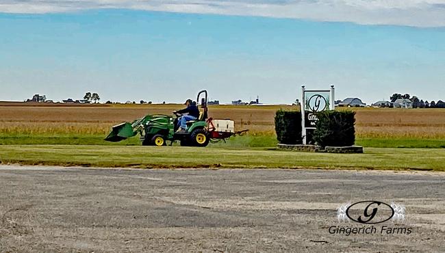 Yard Spraying - Gingerich Farms
