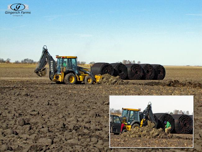 Dirt work - Gingerich Farms