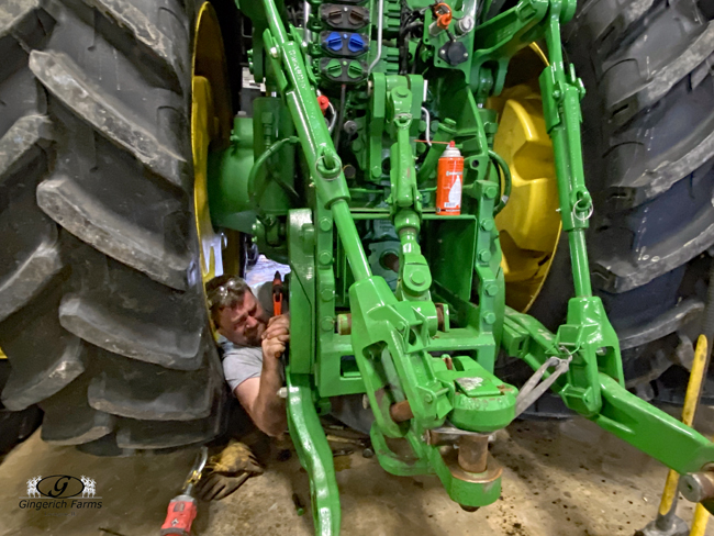 Tractor work - Gingerich Farms