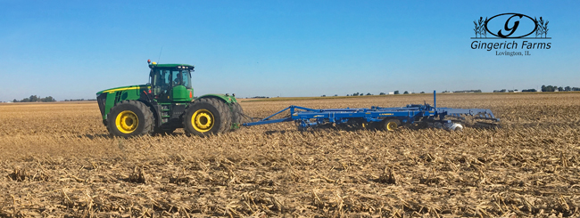 Tillage at Gingerich Farms