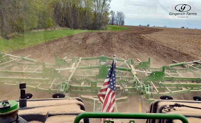 Field cultivator - Gingerich Farms