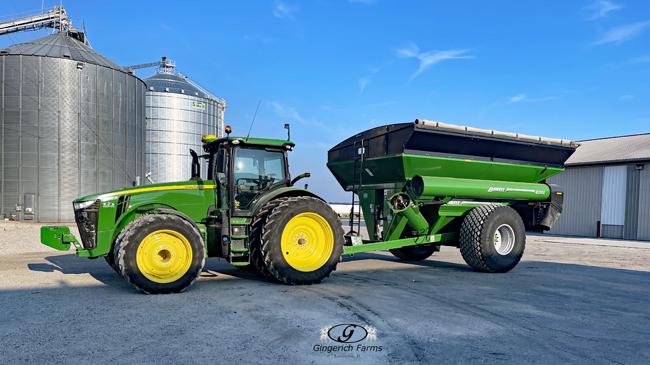 Grain Cart - Gingerich Farms