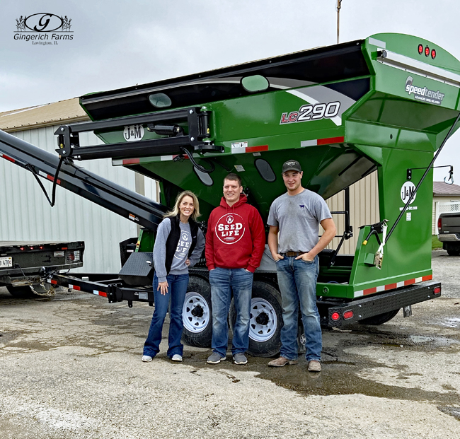 Winning Seed tender at Gingerich Farms