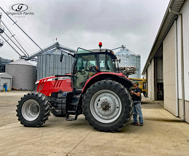 Tractor Repairs - Gingerich Farms