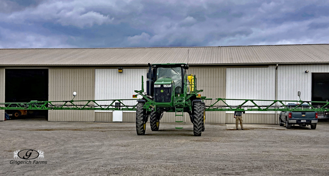 Cleaning sprayer - Gingerich Farms