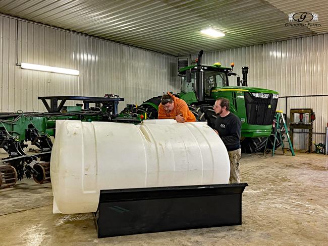 Warmer Tank - Gingerich Farms
