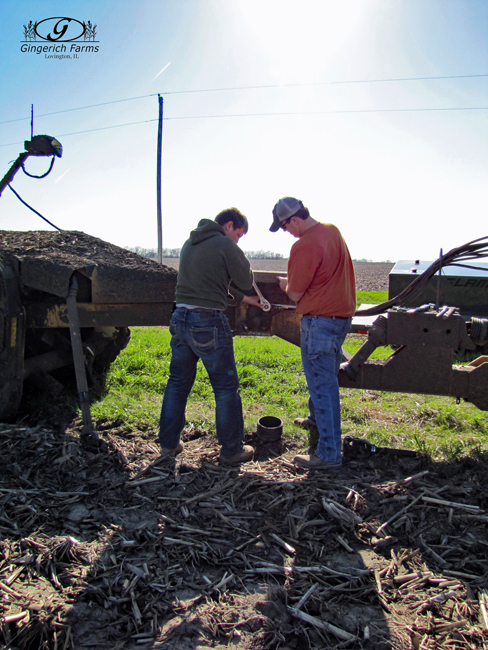 Repair time at Gingerich Farms