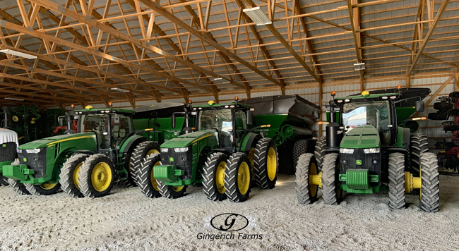 Auger carts - Gingerich Farms