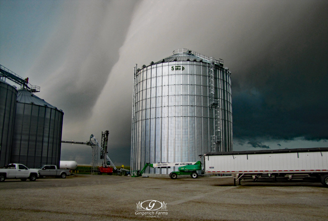 Storm at Gingerich Farms