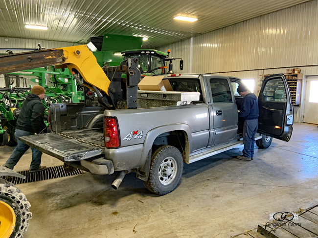 Take tool box off - Gingerich Farms