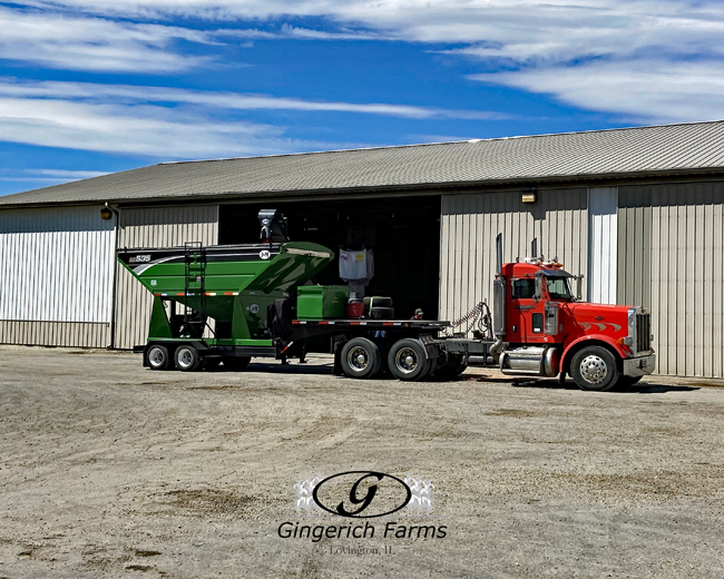 Loading tender - Gingerich Farms