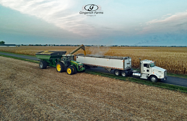Loading truck - Gingerich Farms