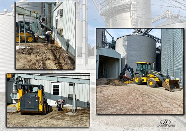 Concrete project - Gingerich Farms