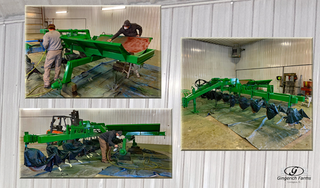 Paint sidedress bar - Gingerich Farms