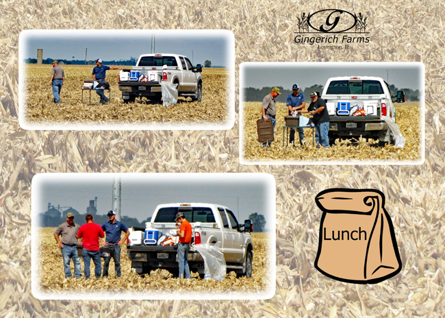 Pioneer lunch at Gingerich Farms