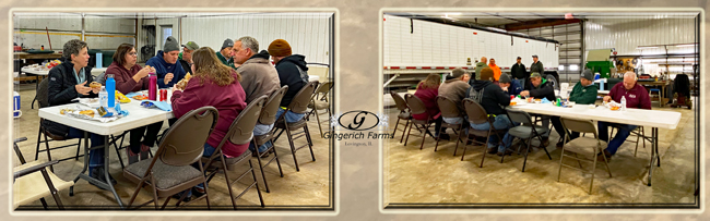 Pioneer Lunch - Gingerich Farms