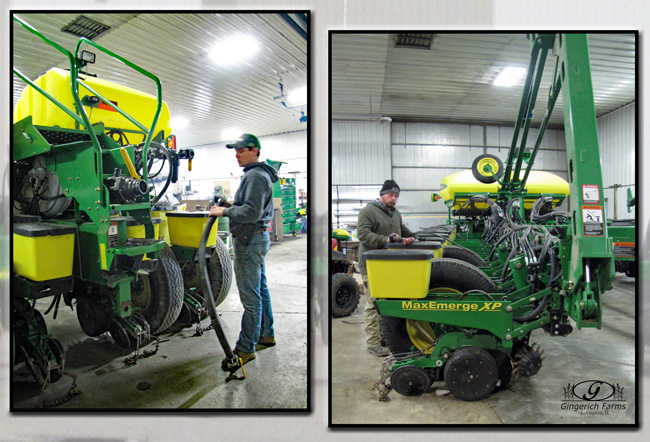Planter work at Gingerich Farms
