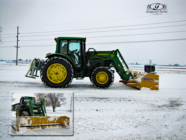 Plowing at Gingerich Farms