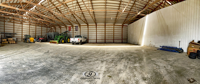 Seed shed - Gingerich Farms
