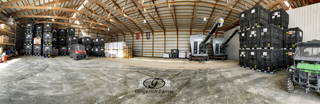 Seed boxes - Gingerich Farms
