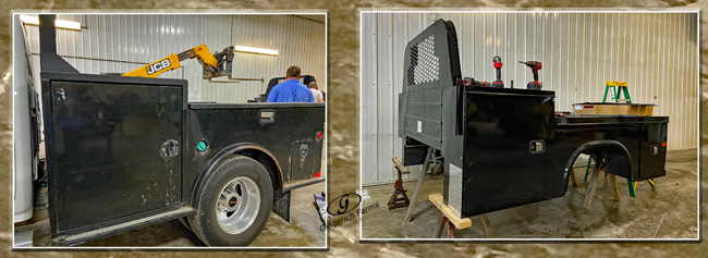 changing truck bed - Gingerich Farms