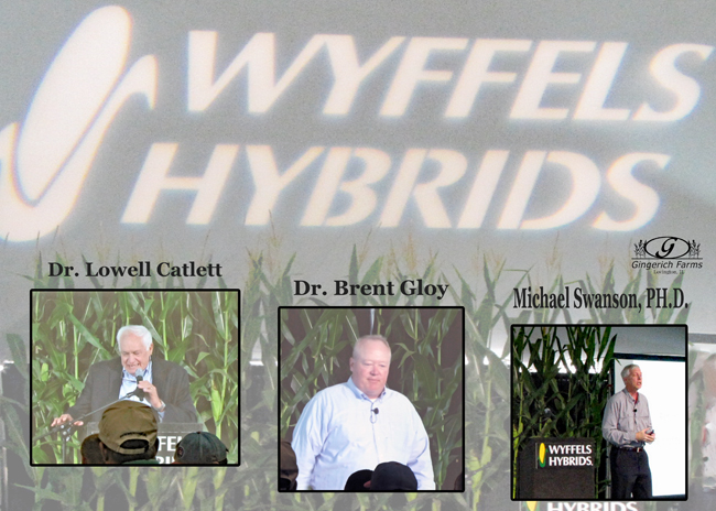Speakers at Wyffels Strategies at Gingerich Farms