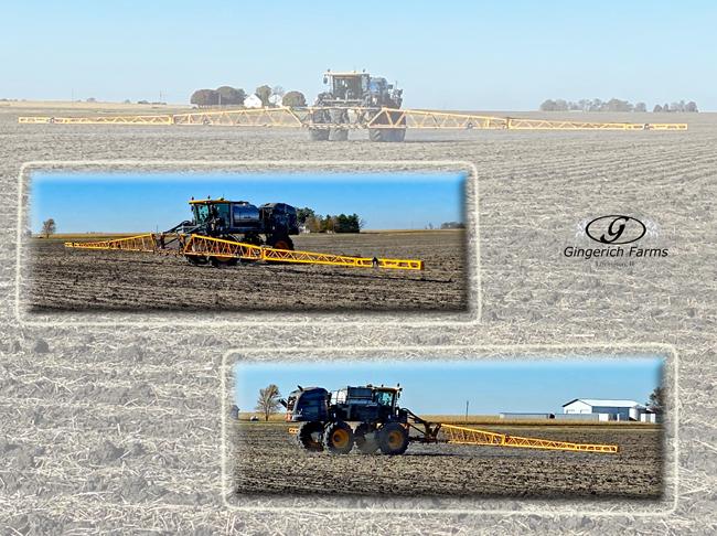Spraying - Gingerich Farms