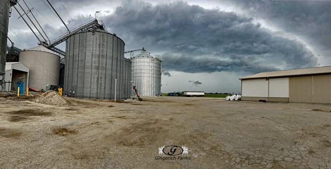 GC rain clouds - Gingerich Farms