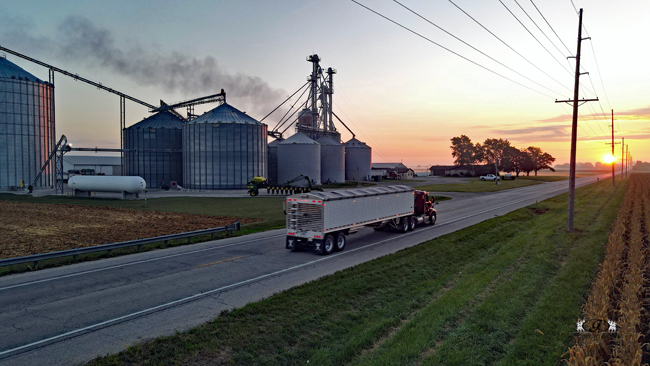 Truck coming to GC - Gingerich Farms